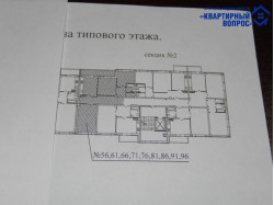 Двухкомнатная квартира, ул. Владимирская, д.11а